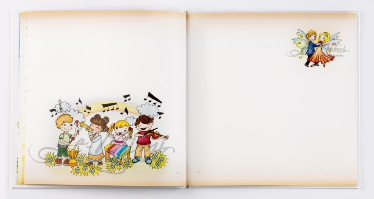 6. Pamätníček môjho detstva - ukážka ilustrácií