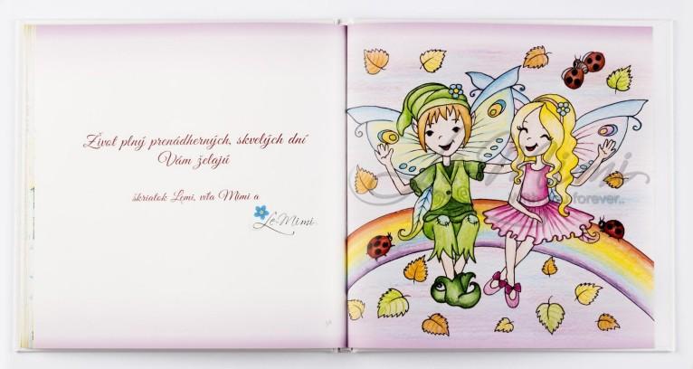 9. Pamätníček môjho detstva - škriatok Lemi a víla Mimi - postavičky sprevádzajúce celú knihu