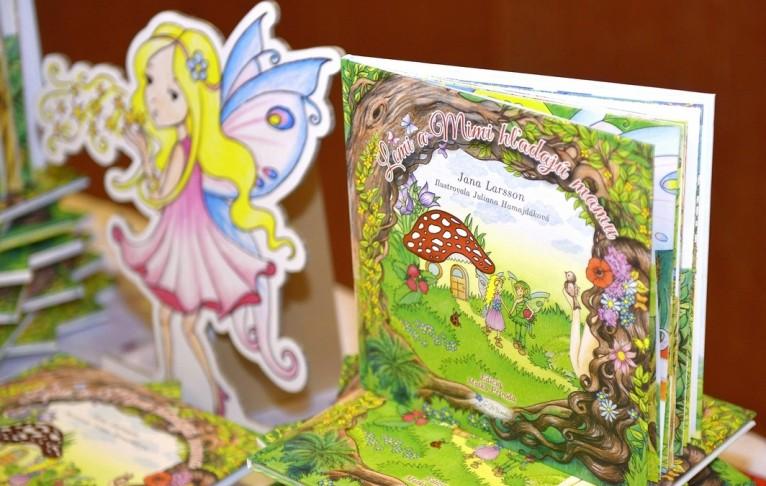 Knihy na stole s Mimi zmen zuz